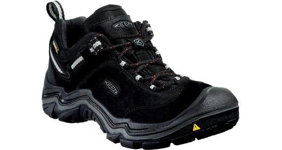 Keen Wanderer WP Shoes Men Black/Gargoyle